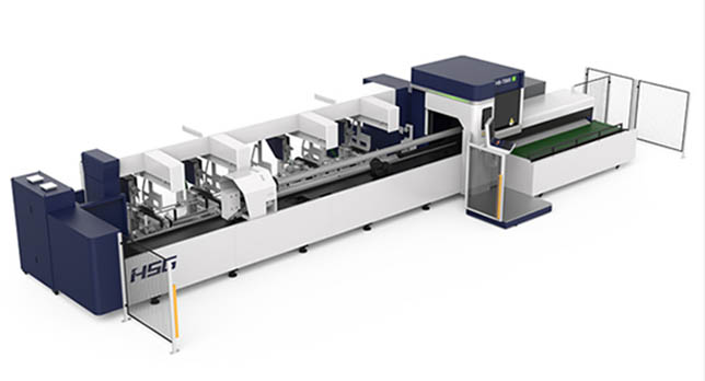 TS-Series HS-TS65 Fully automatic fiber tubes cutting machine
