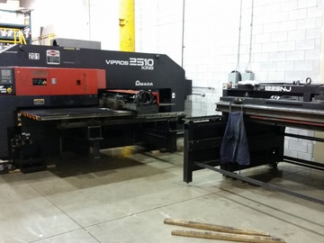 2000 Amada Vipros 2510k C W Mp1225nj Loader