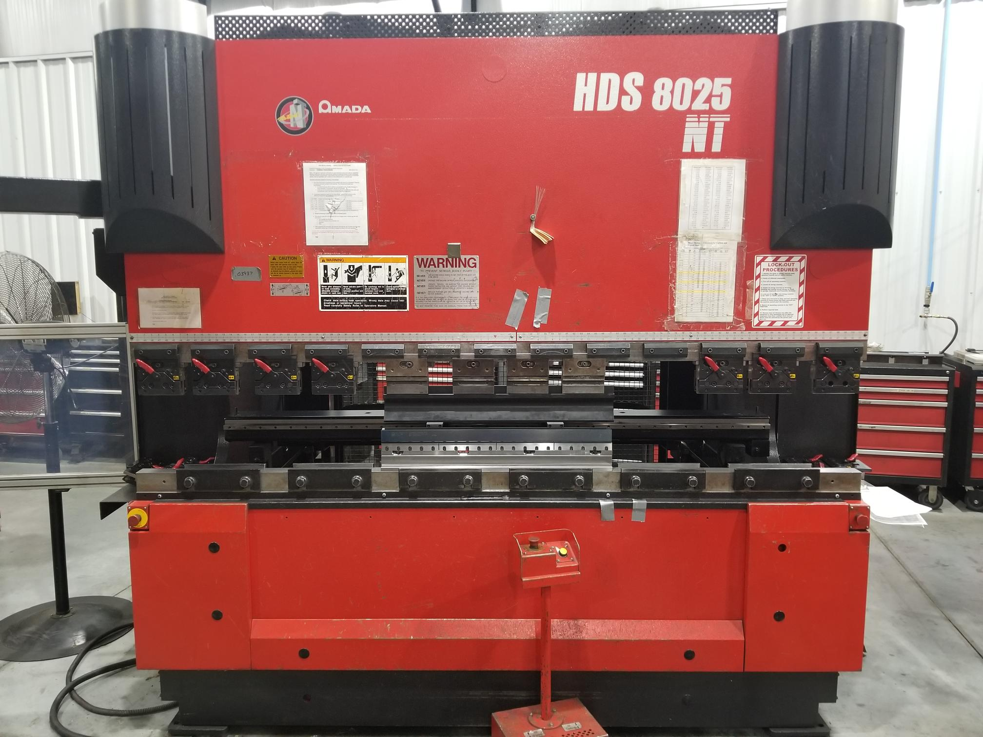 Used Amada press brake machines for sale
