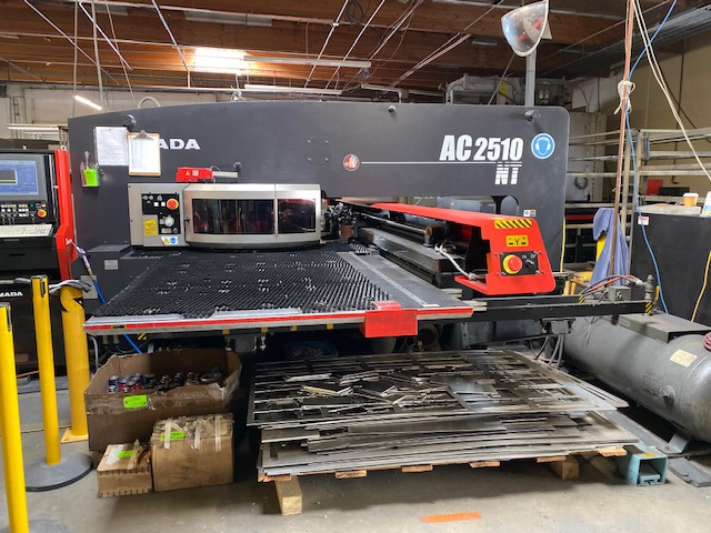 2008 Amada  AC 2510NT Turret Punch Press