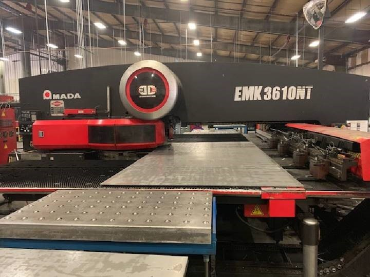 2006 Amada EMK 3610NT Turret Punch Press