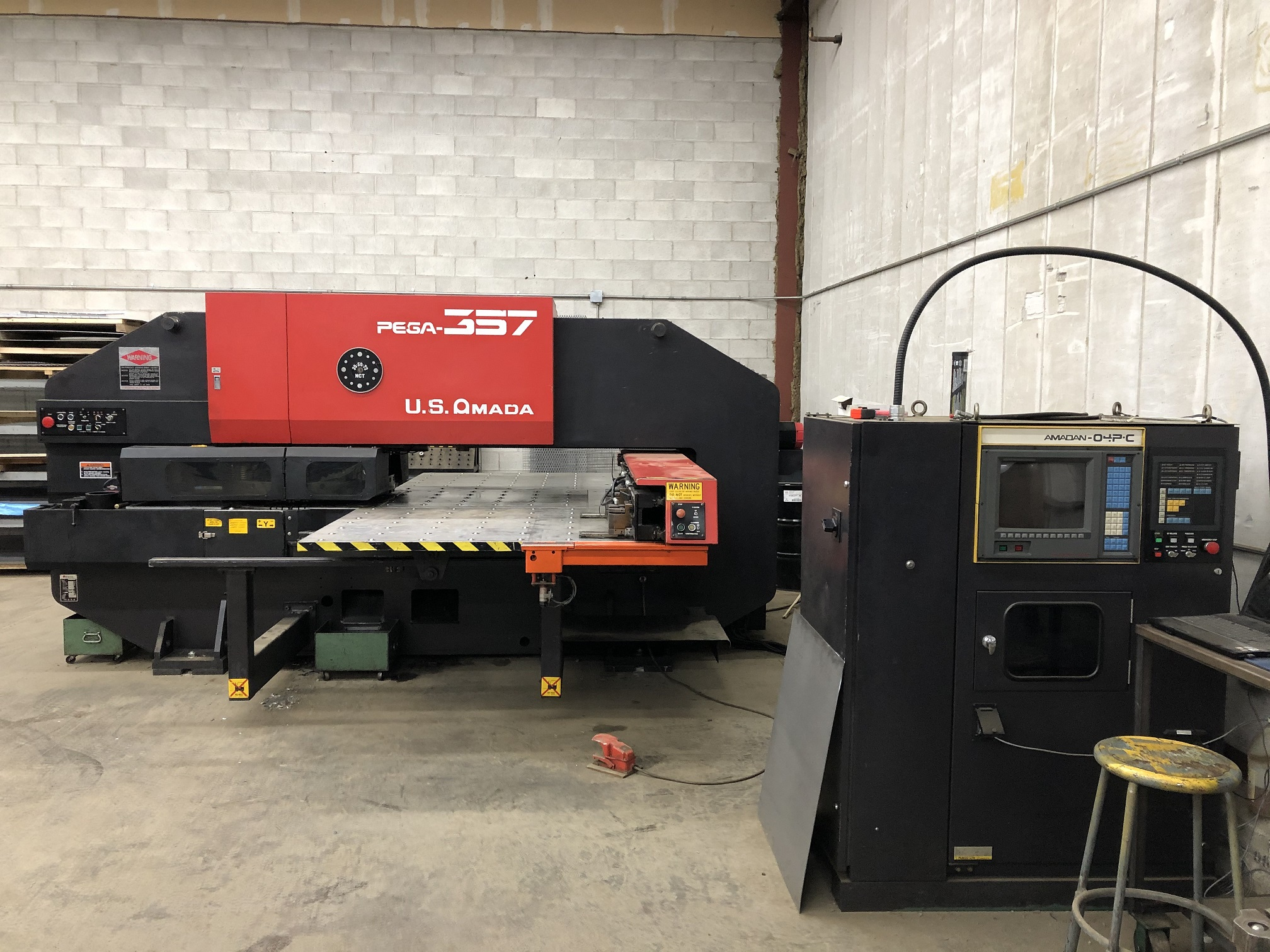 1988 Amada PEGA 357 Turret Punch Press