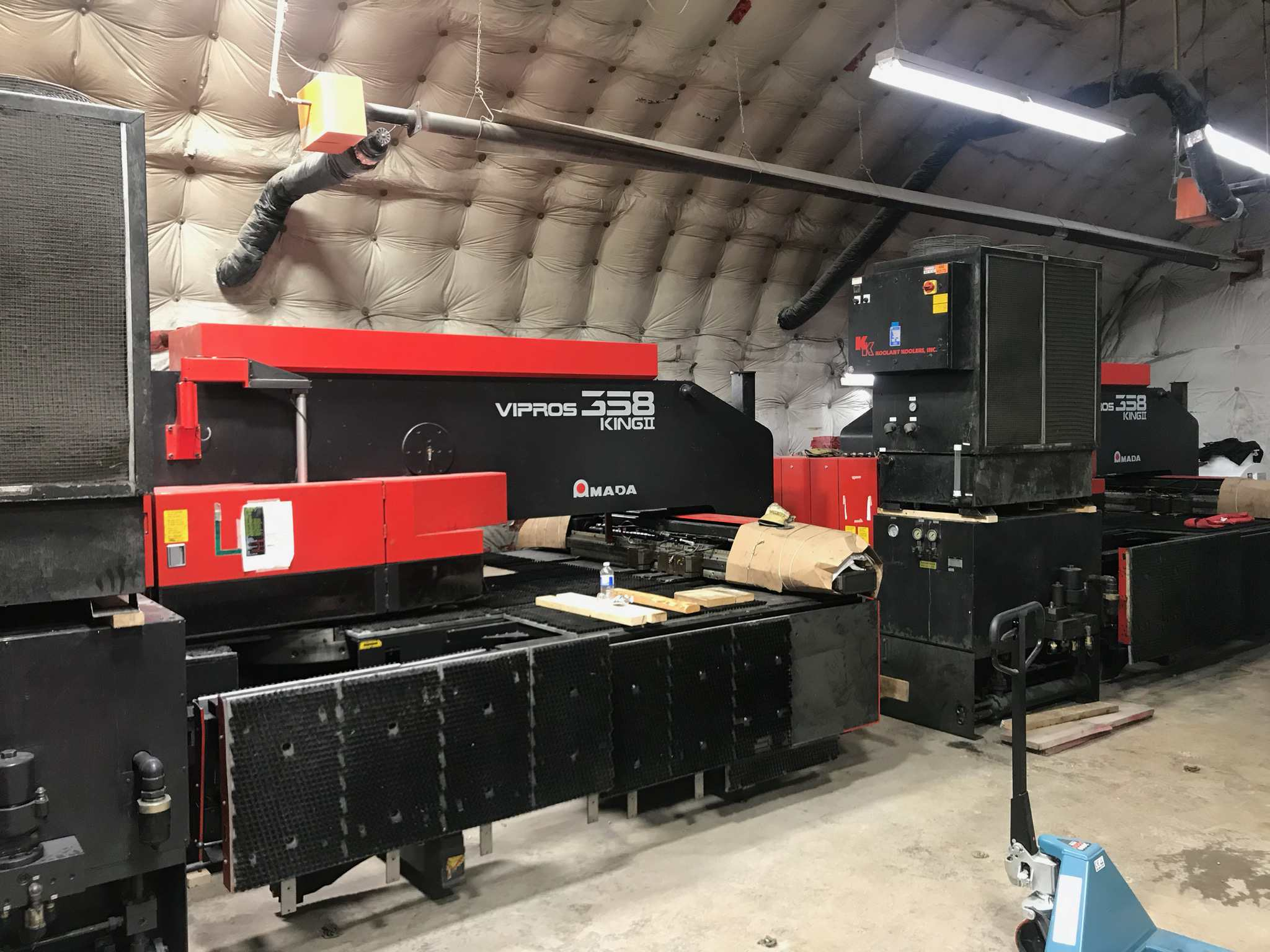2000 Amada VIPROS 358K II Turret Punch Press