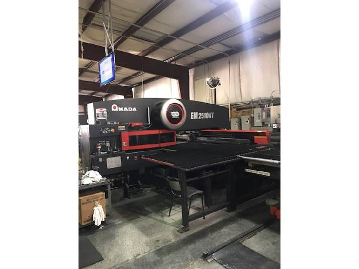 Used Amada Turret Punch Presses For Sale