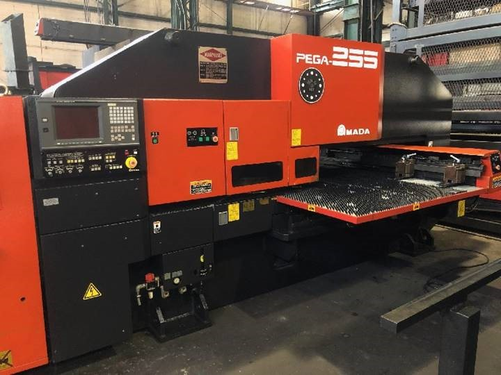 2002 Amada PEGA 255 Turret Punch press